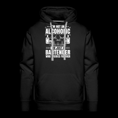 Barkeeper Bartender Mixologist Alcoholic Gift - Men's Premium Hoodie