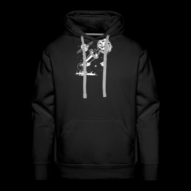 The Astronomer Funny T shirt - Men's Premium Hoodie