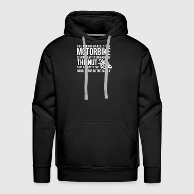 Handlebars To The Saddle - Men's Premium Hoodie