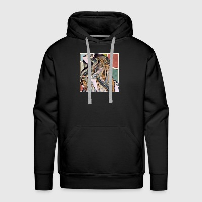 Look up and smile - Men's Premium Hoodie