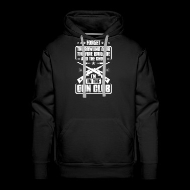 Gun Club Shooting Sports Range Shooter Firing Gift - Men's Premium Hoodie