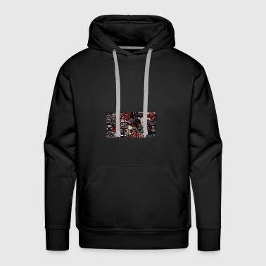 The Binding Of Isaac All bosses hoodie - Men's Premium Hoodie