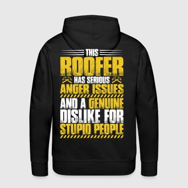 Roofer/Tiler/Thatcher/Slater/Roofing/Work/Job - Men's Premium Hoodie
