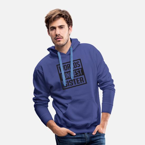 Heart Hoodies & Sweatshirts - world s funniest - Men's Premium Hoodie royalblue