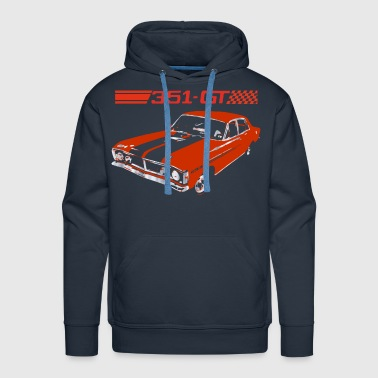 muscle car - Men's Premium Hoodie