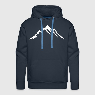Rocky Mountains Mountain, Mountains - Men's Premium Hoodie