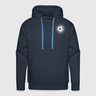 Mason Masonic eye - Men's Premium Hoodie