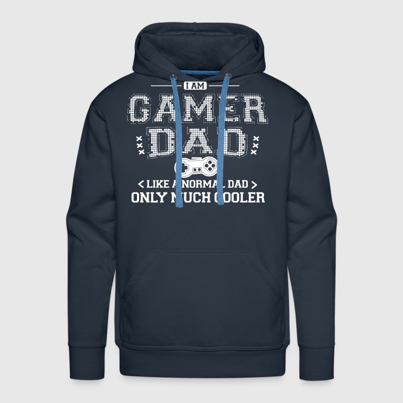 Gamer dad - Men's Premium Hoodie