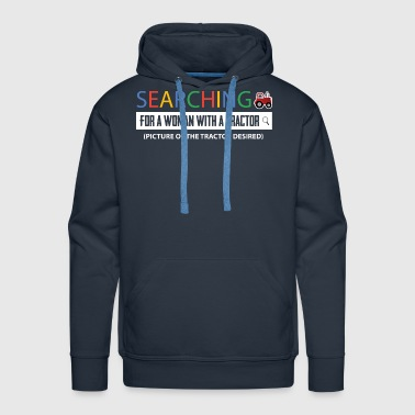 Farmer Searching - Men's Premium Hoodie