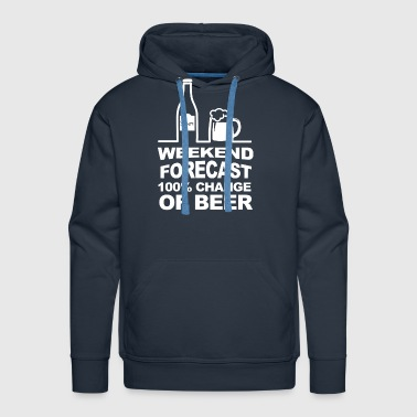 Weekend Forecast - Men's Premium Hoodie