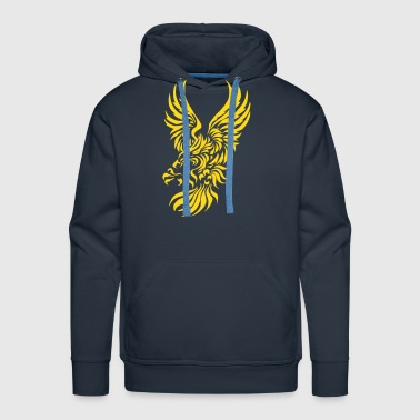Tribal Eagle - Men's Premium Hoodie