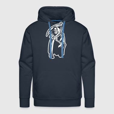 Death The Great Reaper - Men's Premium Hoodie