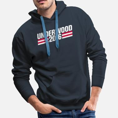 Fictive Underwood 2016 - Men's Premium Hoodie