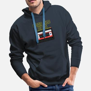 Tape Good Old Days Tape - Men's Premium Hoodie