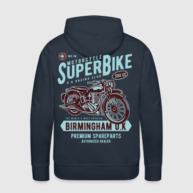 Motorcycle Superbike - Men's Premium Hoodie