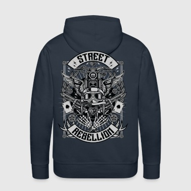 Street Rebellion motorcycle shirt  - Men's Premium Hoodie