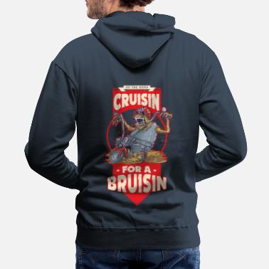 Bikes And Cars Collection cruisin - Molleton à capuche premium Homme