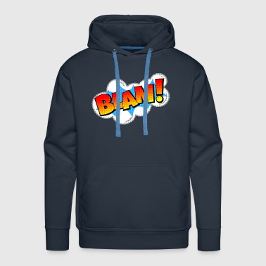 BLAM! Comic Book Explosion - Men's Premium Hoodie