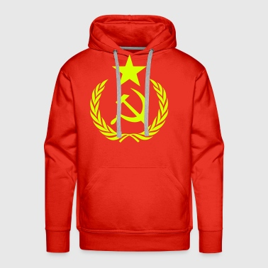 Communist Hammer Sickle - Men's Premium Hoodie