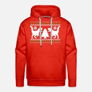 mens premium hoodie - Christmas Jacket