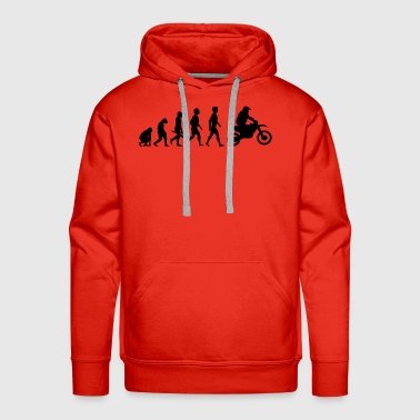 Moped motorrad moped motorcycle motorbike evolution11 - Men's Premium Hoodie
