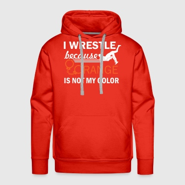 Wrestle wrestling design - Men's Premium Hoodie