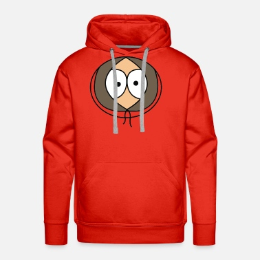 Kenny South Park Kenny face - Men's Premium Hoodie