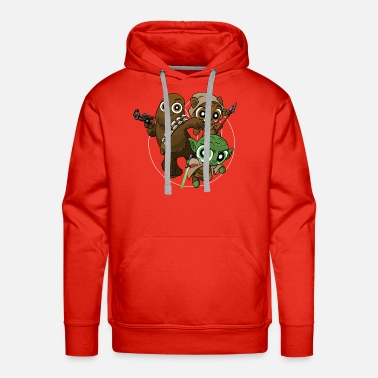 Critters Power Critters - Men's Premium Hoodie