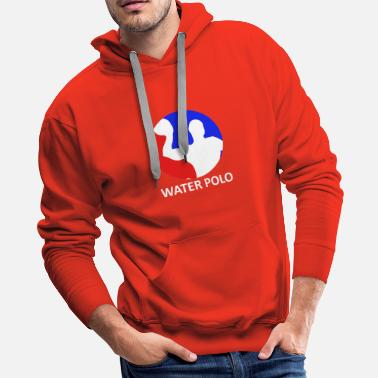 Congratulate Water polo - Men's Premium Hoodie