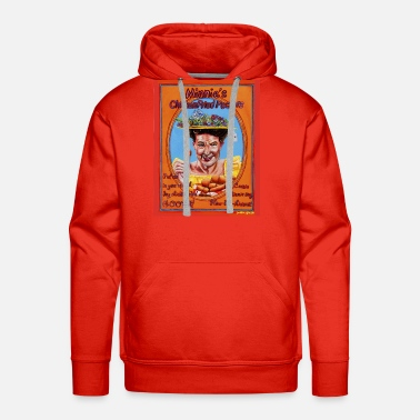 Fried Chicken Minnie's Chicken Fried Peckers - Men's Premium Hoodie