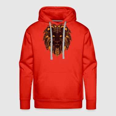 lion head - Men's Premium Hoodie