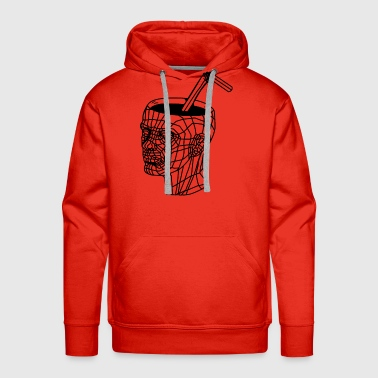 CUPHEAD filled w/ lean - Men's Premium Hoodie