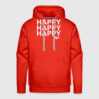 Happy Happy Happy Duck - Men's Premium Hoodie