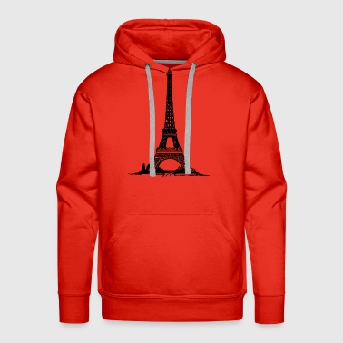 Eiffel Tower Eiffel Tower - Men's Premium Hoodie