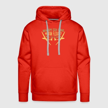 Flying flying - Men's Premium Hoodie