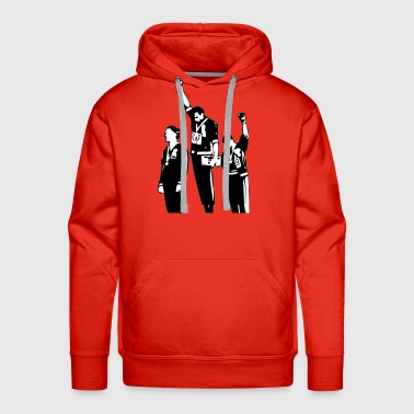 Olympics 1968 Olympics Black Power Salute - Men's Premium Hoodie