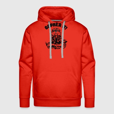 Mouse Gopher Cyber System - Men's Premium Hoodie