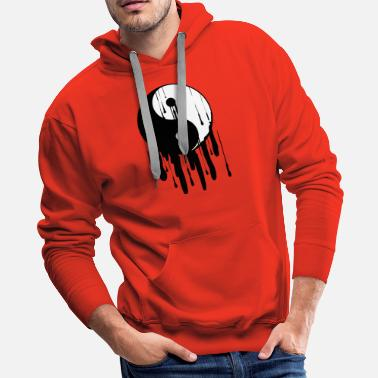 Tai Chi Yin Yang Melting Chinese Tai Chi Symbol Light - Men's Premium Hoodie