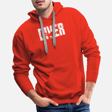 Scuba Diving Diver diving diving in the sea gift - Men's Premium Hoodie