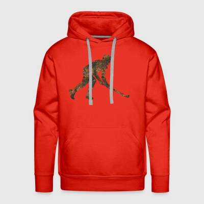 Rust Floorball - Men's Premium Hoodie