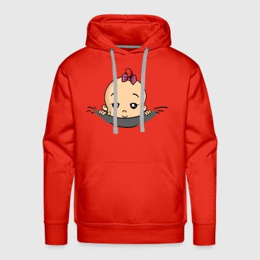 Baby Babies Girl Pregnant Pregnancy Birth - Men's Premium Hoodie