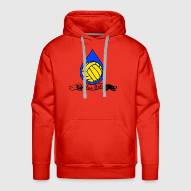 Cool T-Shirt for Water Polo Player - Men's Premium Hoodie