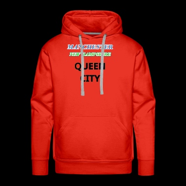 Manchester New Hampshire shirts cups Queen City - Men's Premium Hoodie
