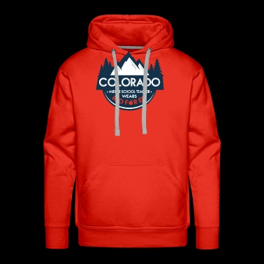 Red For Ed Colorado Middle School Teacher Wear Red - Men's Premium Hoodie
