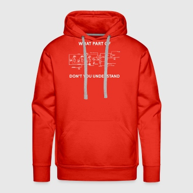 Funny Chemical Engineering T Shirt - Men's Premium Hoodie