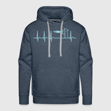 Calisthenics Sport Team Heartbeat Coach Shirt Gift - Men's Premium Hoodie
