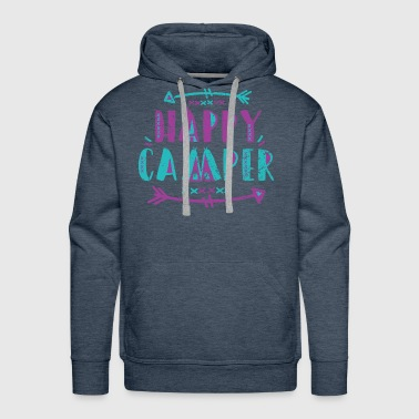 Happy Camper Shirt - Men's Premium Hoodie
