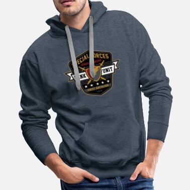 Special Forces Special Forces armored division - Men's Premium Hoodie