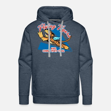 Tiger Flying Tigers - AVG 1941-1942 - Men's Premium Hoodie