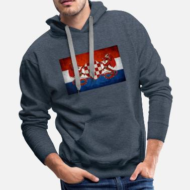 Usta croatian guardian dragons - Men's Premium Hoodie
